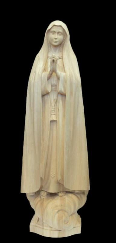 Matka Boża Fatimska, rzeźba