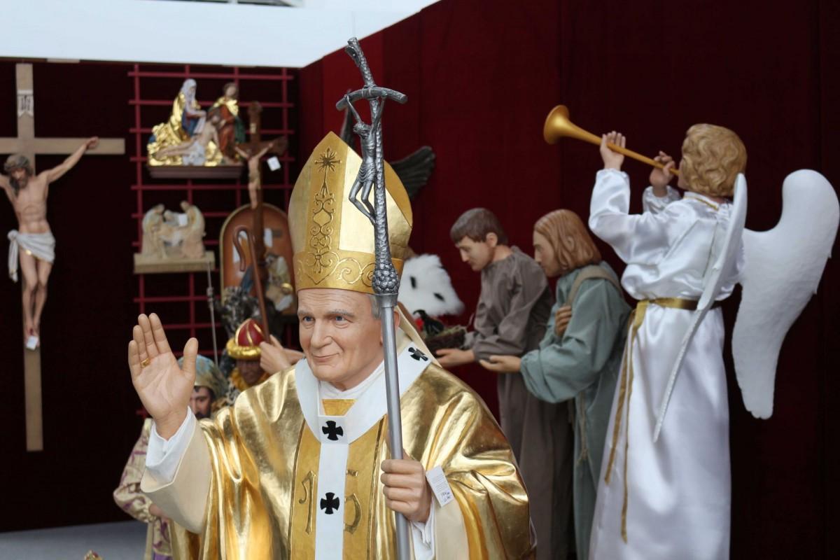 Figura Jana Pawła II - Andrzej Burkot Pracownia Snycerska - SACROEXPO 2017