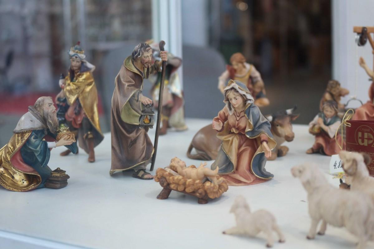 Figurki do szopki bożonarodzeniowej - Andrzej Burkot Pracownia Snycerska - SACROEXPO 2017