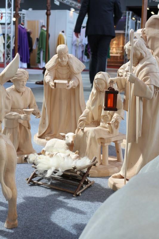 Drewniane duże figury do szopki bożonarodzeniowej - Andrzej Burkot Pracownia Snycerska - SACROEXPO 2017