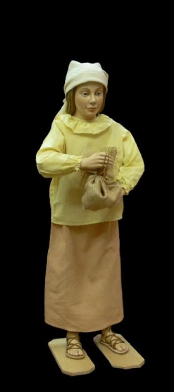 Szopka Bożonarodzeniowa, dziewczynka, figura