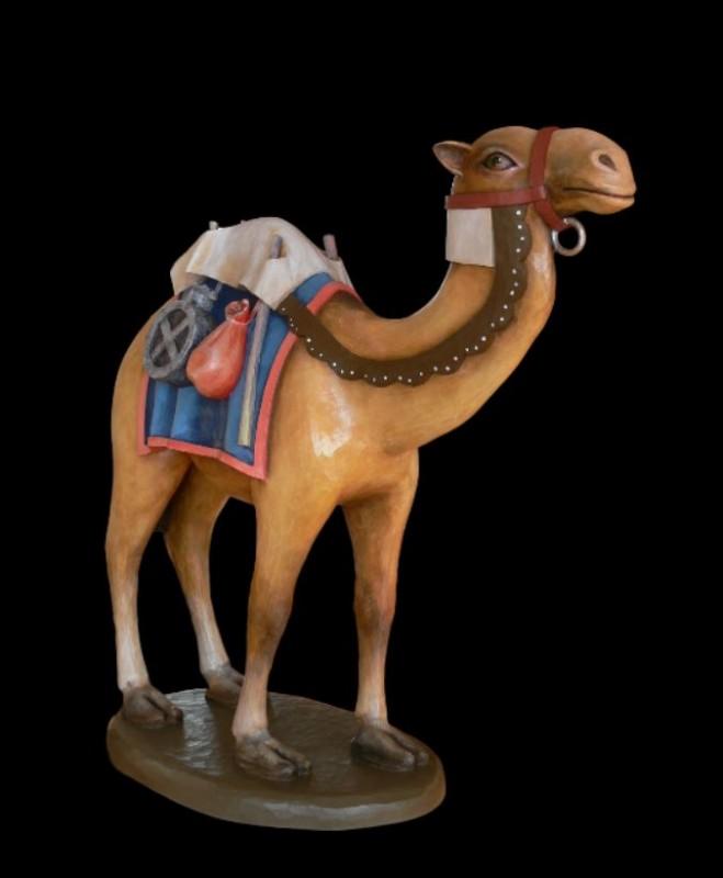 Szopka Bożonarodzeniowa, wielbłąd, rzeźba, figura