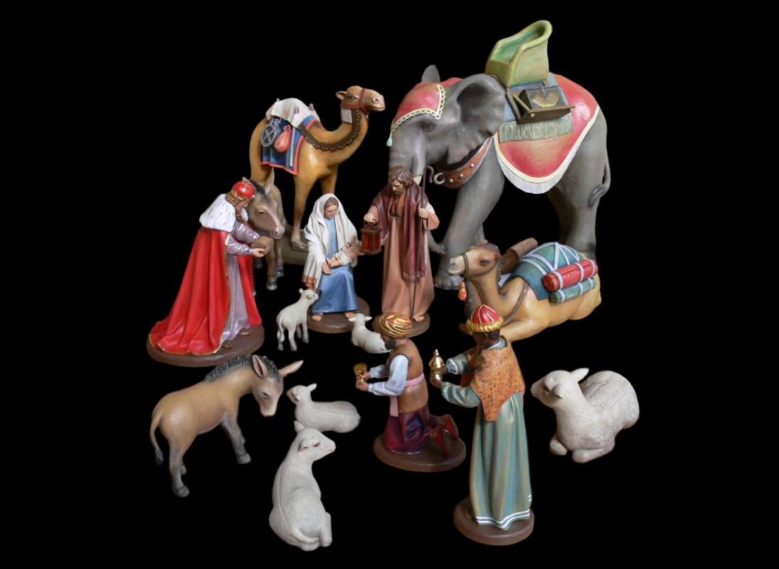 Figury do szopki betlejemskiej