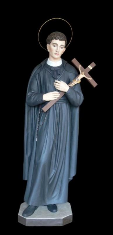 Święty Gerard Majella - rzeźba w drewnie
