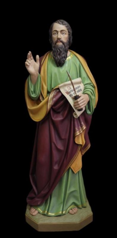 Święty Bartłomiej figura drewniana rzeźba w drewnie