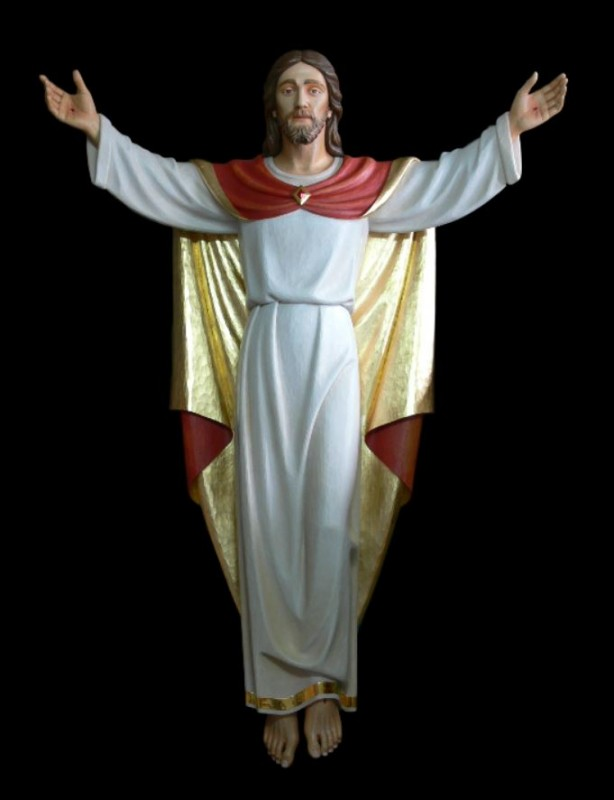 Chrystus Zmartwychwstały płaskorzeźba