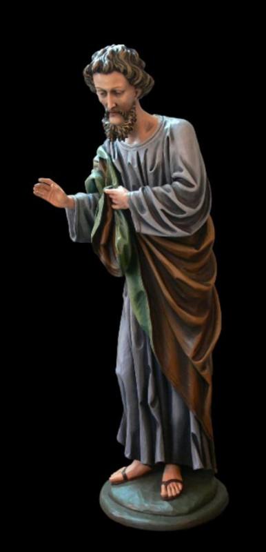 Józef - rzeźba do szopki do kościoła