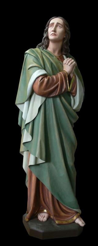 Św. Jan - polichromowana figura drewniana