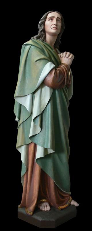 Św. Jan - figura wykonana w drewnie lipowym