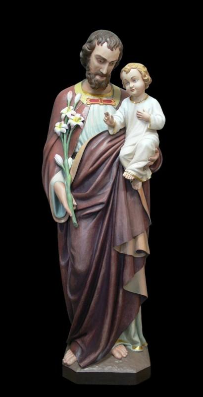 Figura św. Józefa - rzeźba drewniana do kościoła