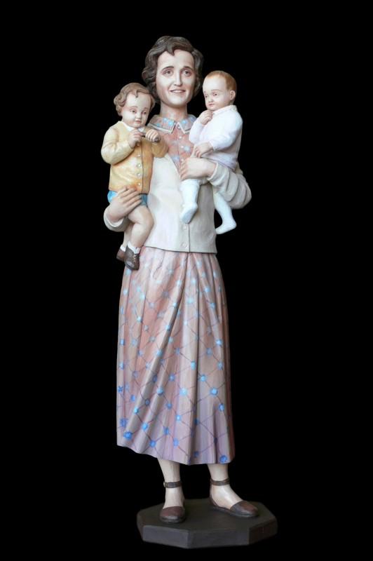 Joanna Beretta Molla, rzeźba w drewnie