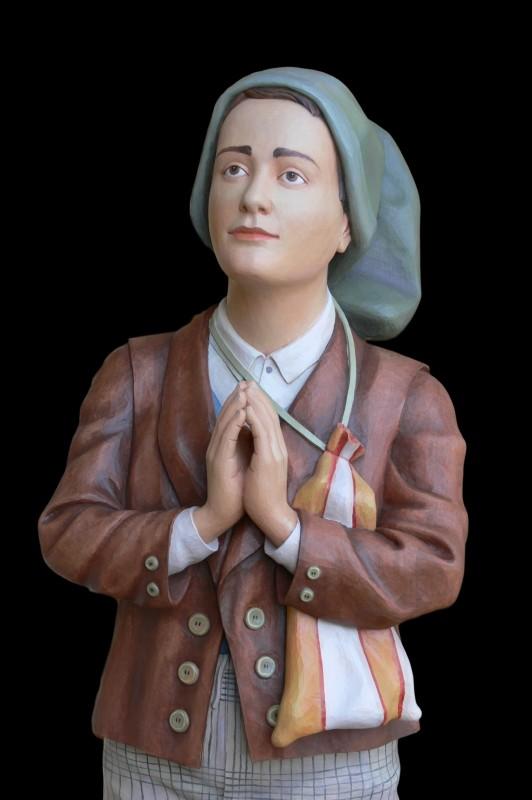 Franciszek Marto figura w drewnie