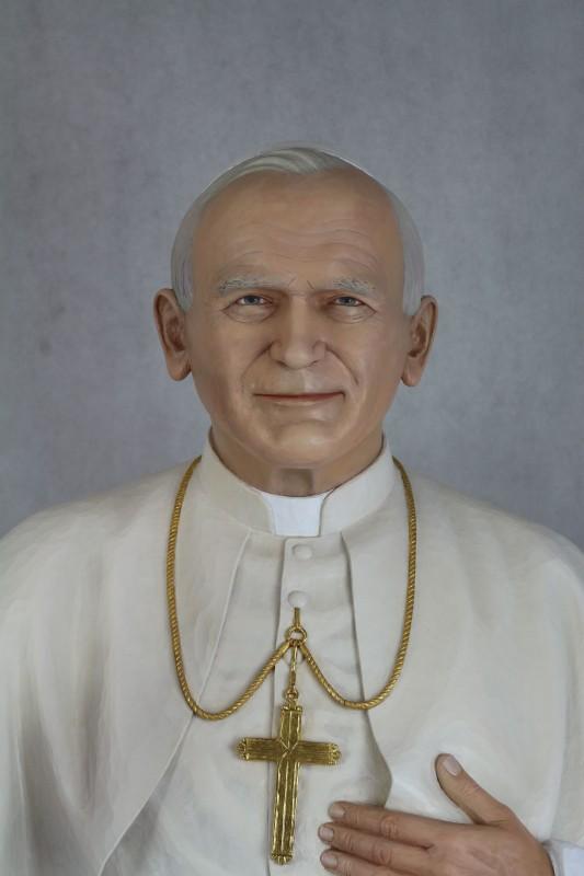 Jan Paweł II figura drewniana