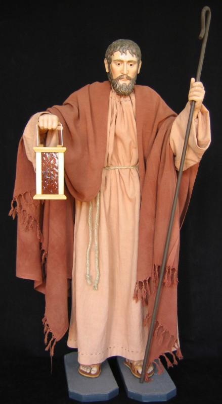 Figura Św. Józefa - interaktywna szopka bożonarodzeniowa