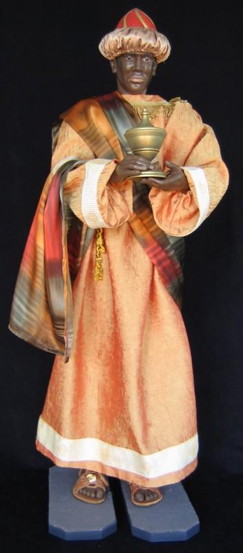 Król Kacper - figura szopka bożonarodzeniowa
