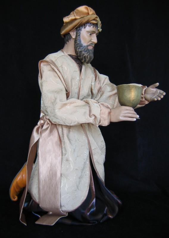 Król Baltazar - figura szopka bożonarodzeniowa