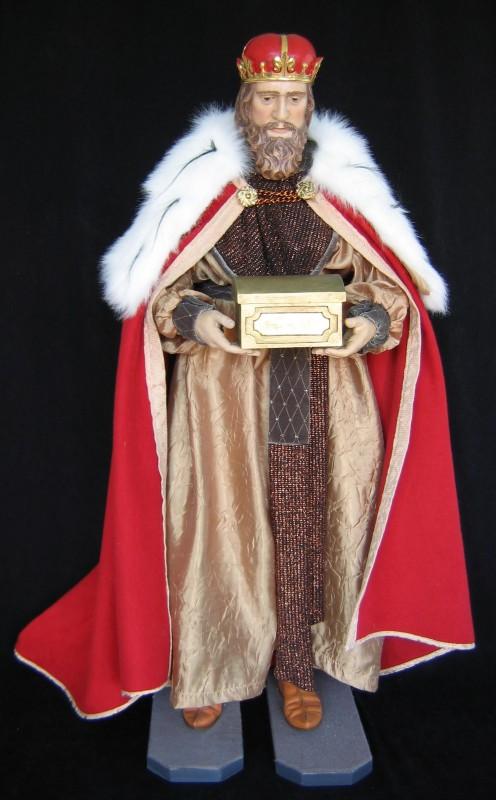 Król Melchior - figura szopka bożonarodzeniowa