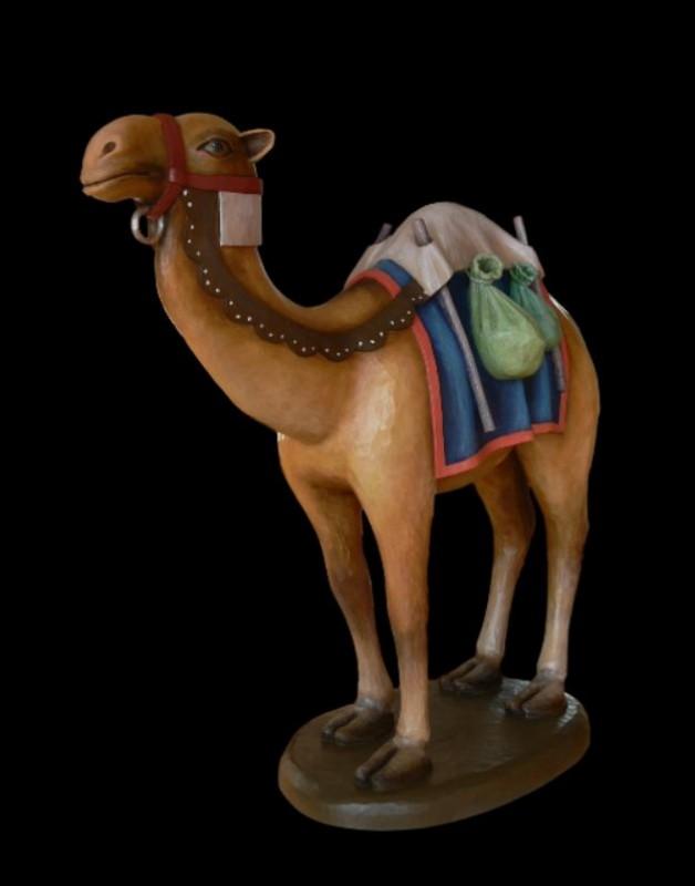 Zwierzęta do szopki bożonarodzeniowej - wielbłąd stojący