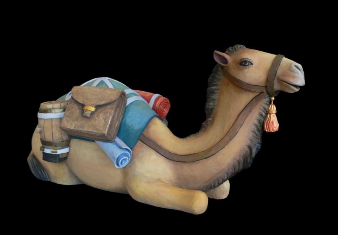 Wielbłąd leżący, figury do szopki bożonarodzeniowej