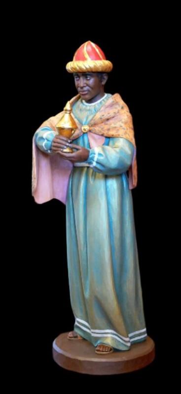 Król Murzyn - rzeźba do szopki bożonarodzeniowej