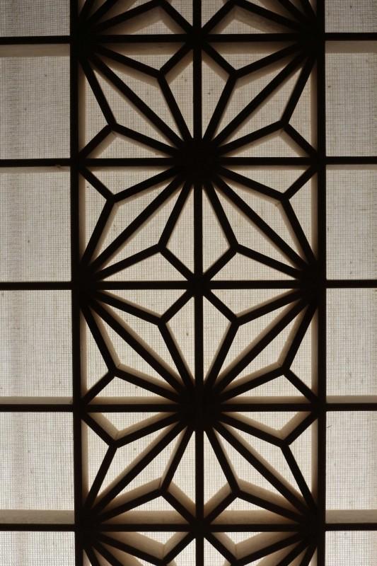 Kaku asanoha, wyjątkowa lampa japońska