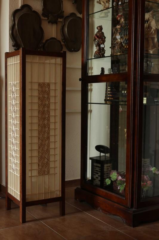 Wyposażenie wnętrz, lampa japońska