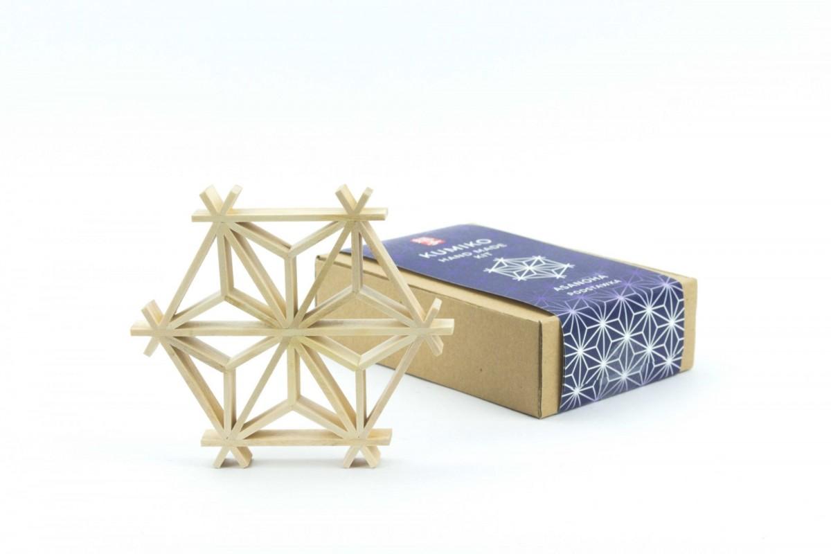 Oryginalny prezent, rękodzieło do samodzielnego montażu, podkładka japońska, podstawka japońska