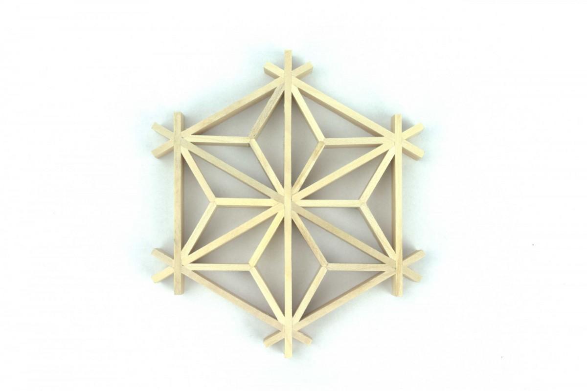 Kumiko, oryginalny prezent, podkładka kumiko