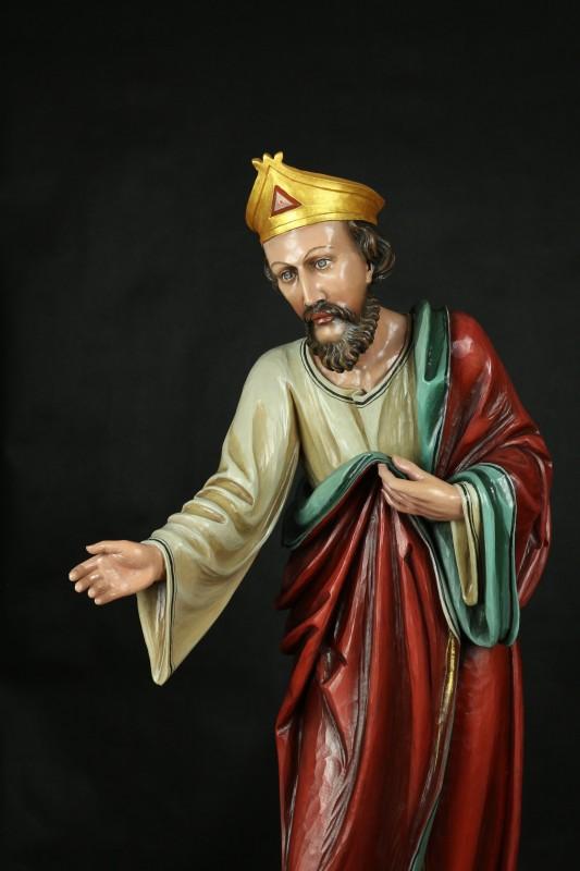 Figura, rzeźba drewniana do szopki bożonarodzeniowej