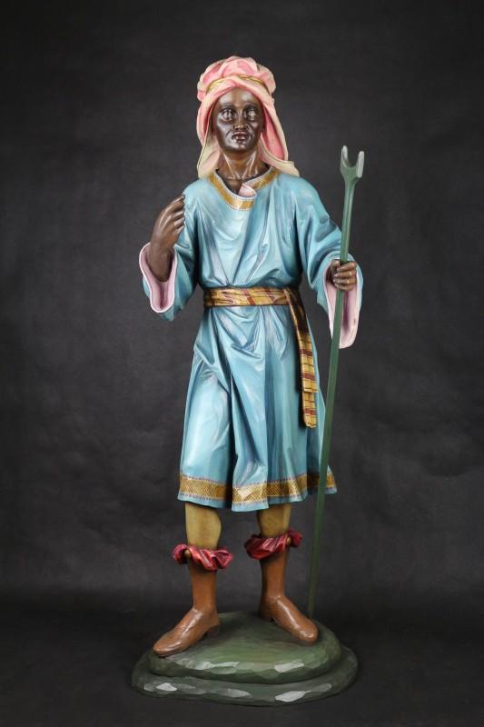 Szopka bożonarodzeniowa - figura drewniana
