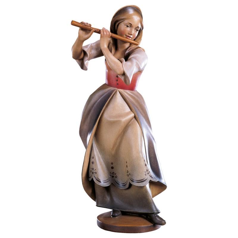 Flecistka - rzeźba drewniana