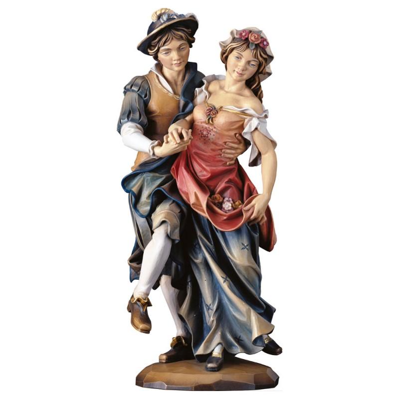 """Rzeźba drewniana """"Tancerze"""""""