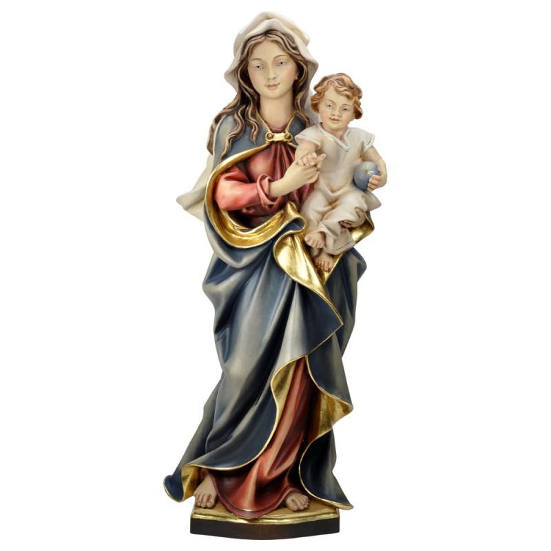 Madonna z Dzieciątkiem polichromowana