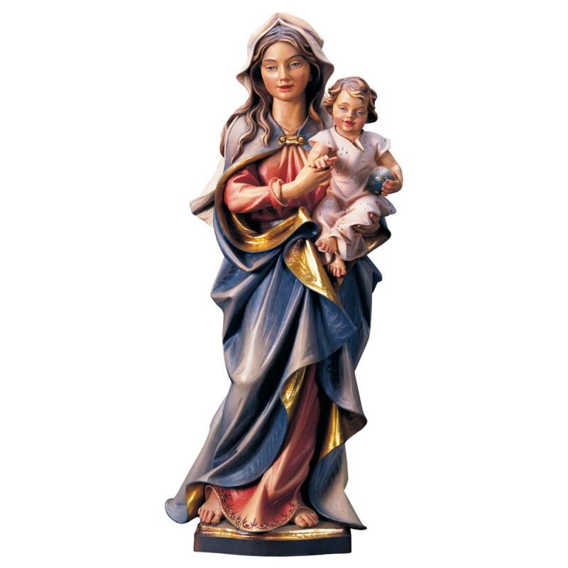 Madonna z Dzieciątkiem figura drewniana