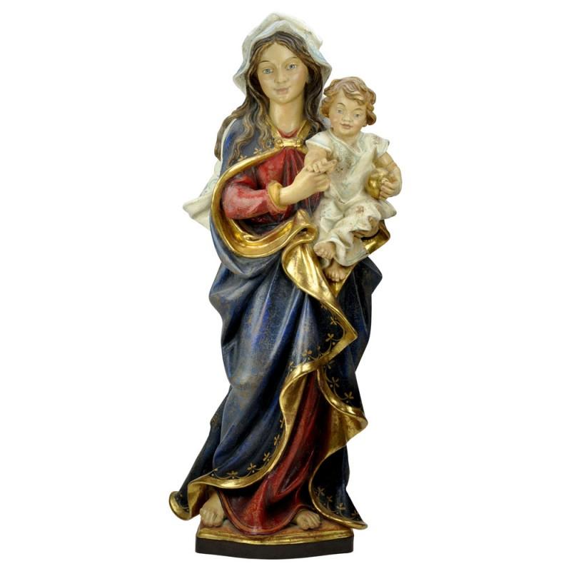 Madonna z Dzieciątkiem rzeźba w drewnie