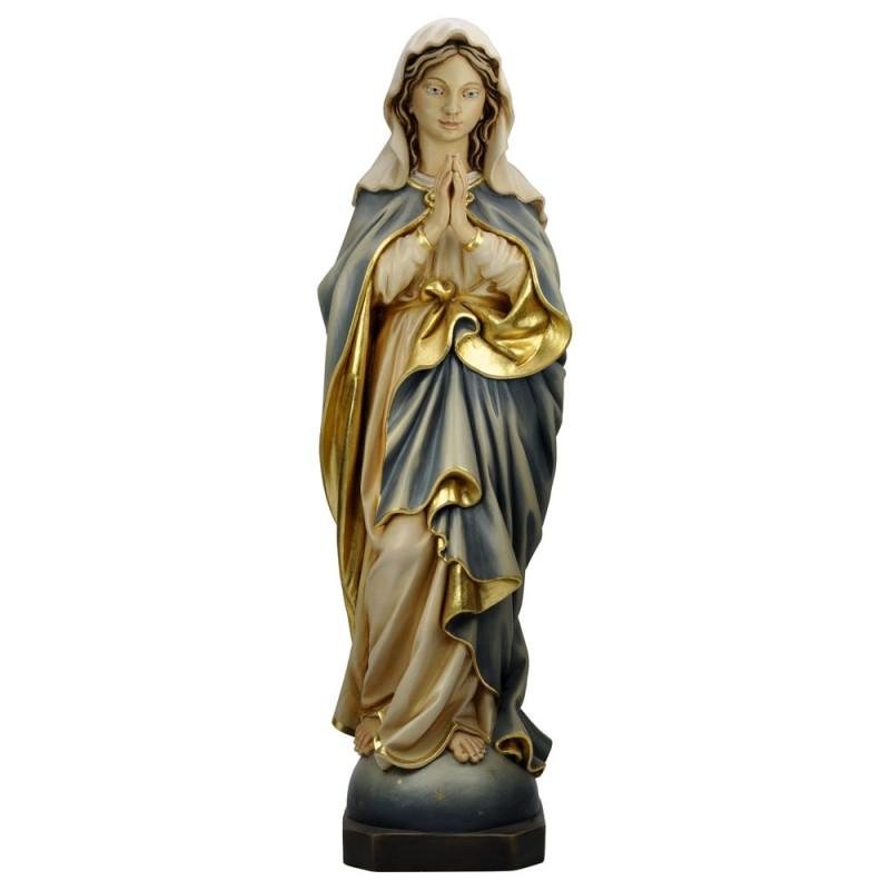 Madonna modląca się - rzeźba drewniana