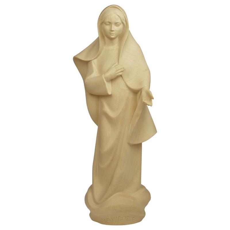 Matka Boża z Medjugorje - figurka drewniana